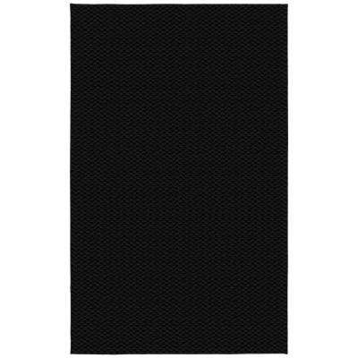 Medallion Black 9 ft. x 12 ft. Area Rug