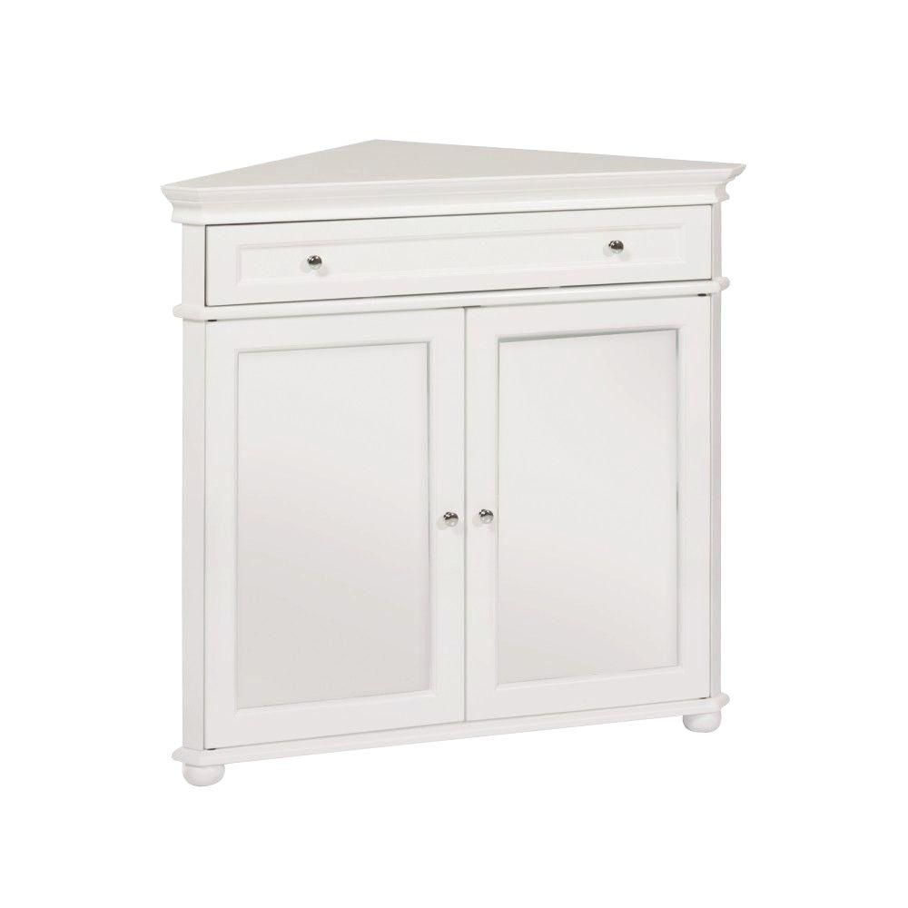 Home Decorators Collection Hampton Harbor White Storage Cabinet