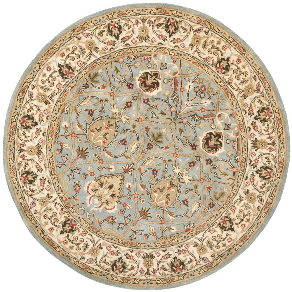 Persian Legend Gray/Ivory 6 ft. x 6 ft. Round Area Rug