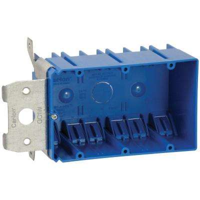 3-Gang 49 cu. in. PVC Adjust-A-Box (Case of 12)