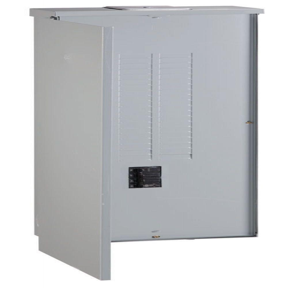 PowerMark Gold 200 Amp 40-Space 40-Circuit Outdoor Main Breaker Load Center