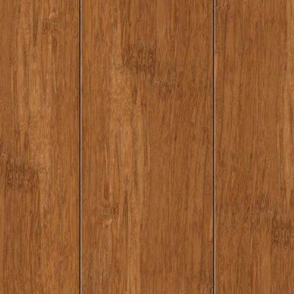 Take Home Sample - Hand Scraped Strand Woven Autumn Bamboo Flooring