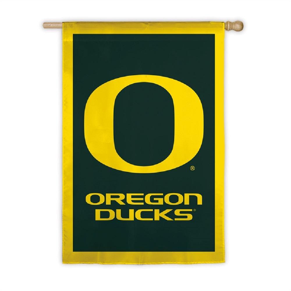 2.4 ft. x 3.6 ft. University of Oregon Applique House Flag