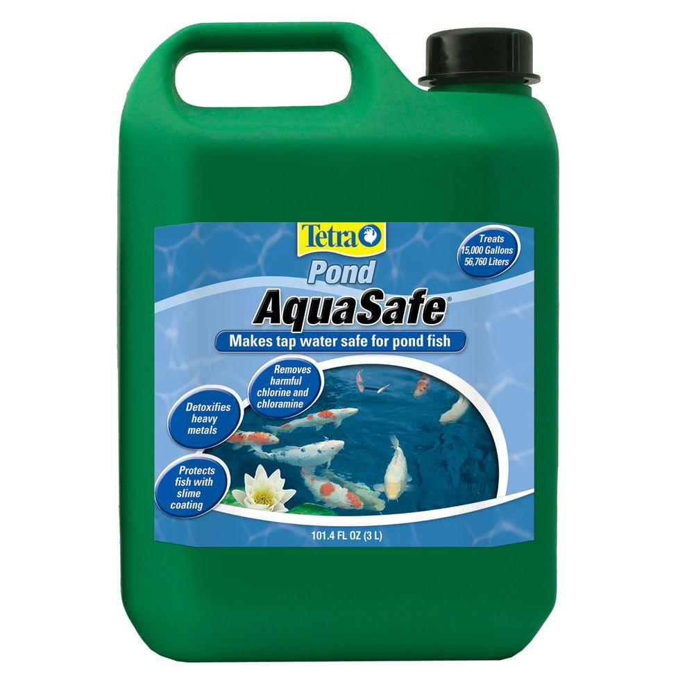 tetrapond aquasafe 101 4 oz water conditioner 16275 the home depot. Black Bedroom Furniture Sets. Home Design Ideas