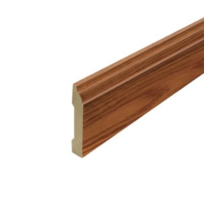 Paradise Jatoba .62 in. Thick x 3.3 in. Wide x 94.5 in. Length Laminate Wallbase Molding