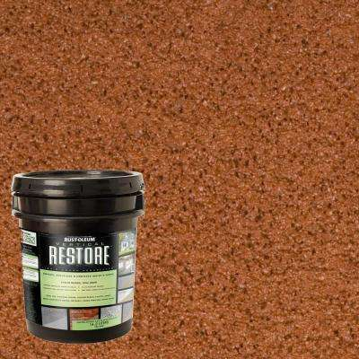 4 gal. California Rustic Vertical Liquid Armor Resurfacer for Walls and Siding