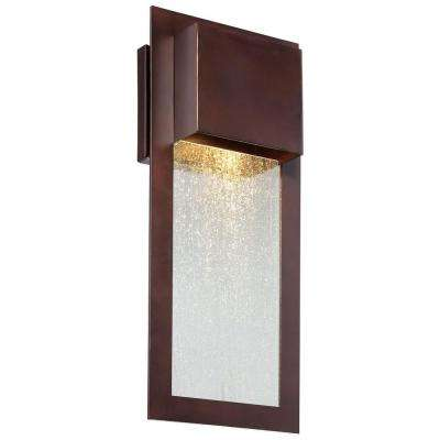 Westgate Alder Bronze Outdoor Wall Mount
