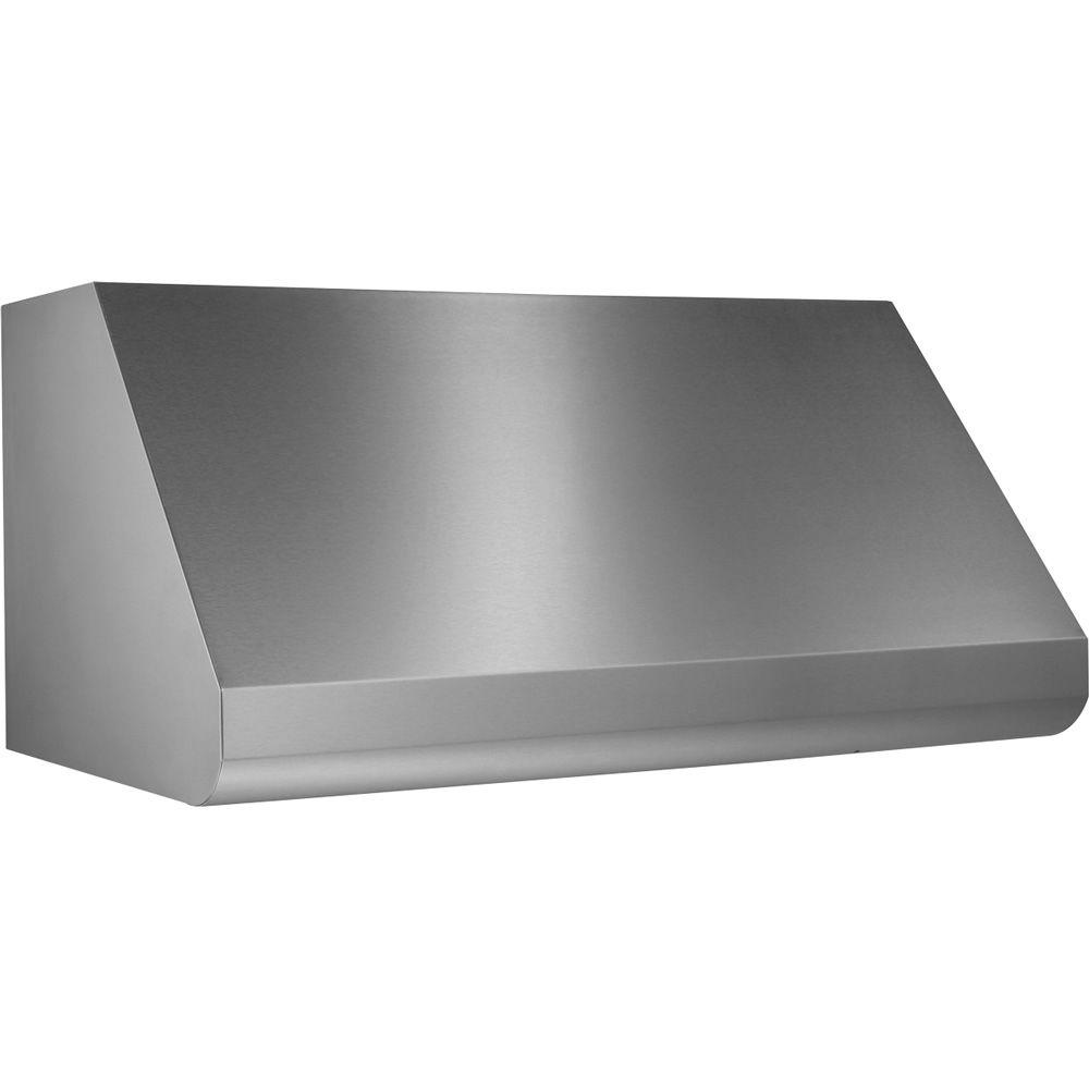 Broan Elite E60000 36 In Convertible Wall Mount Range Hood With Light Stainless Steel