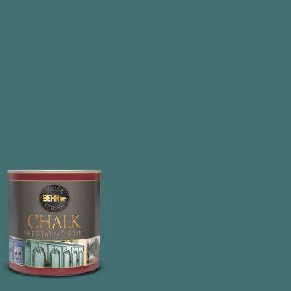 1 qt. #S440-6 Tealish Interior Chalk Decorative Paint