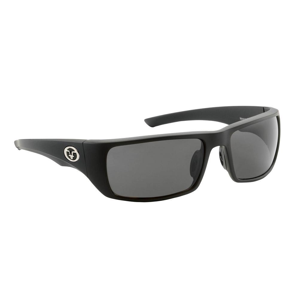cef0b3db814 Flying Fisherman. Morocco Polarized Sunglasses Matte Black Frame with Smoke  Lens