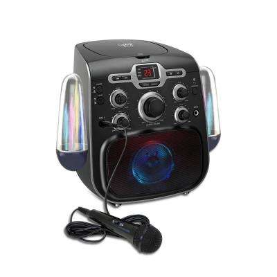 Bluetooth Karaoke Machine with LED Water Show