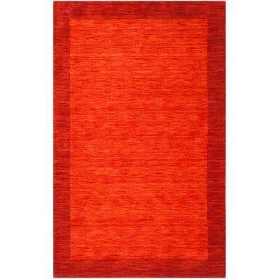 Himalaya Red 4 ft. x 6 ft. Area Rug