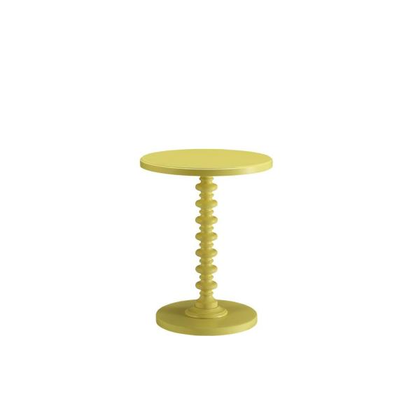 Acton Yellow Side Table