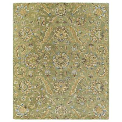 Helena Virgil Green 4 ft. x 6 ft. Area Rug