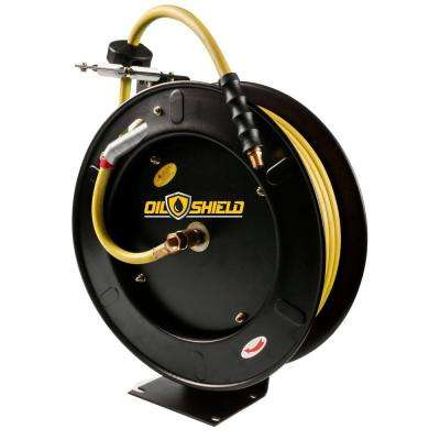 3/8 in. x 50 ft. Oil Shield HD Air Hose Reel