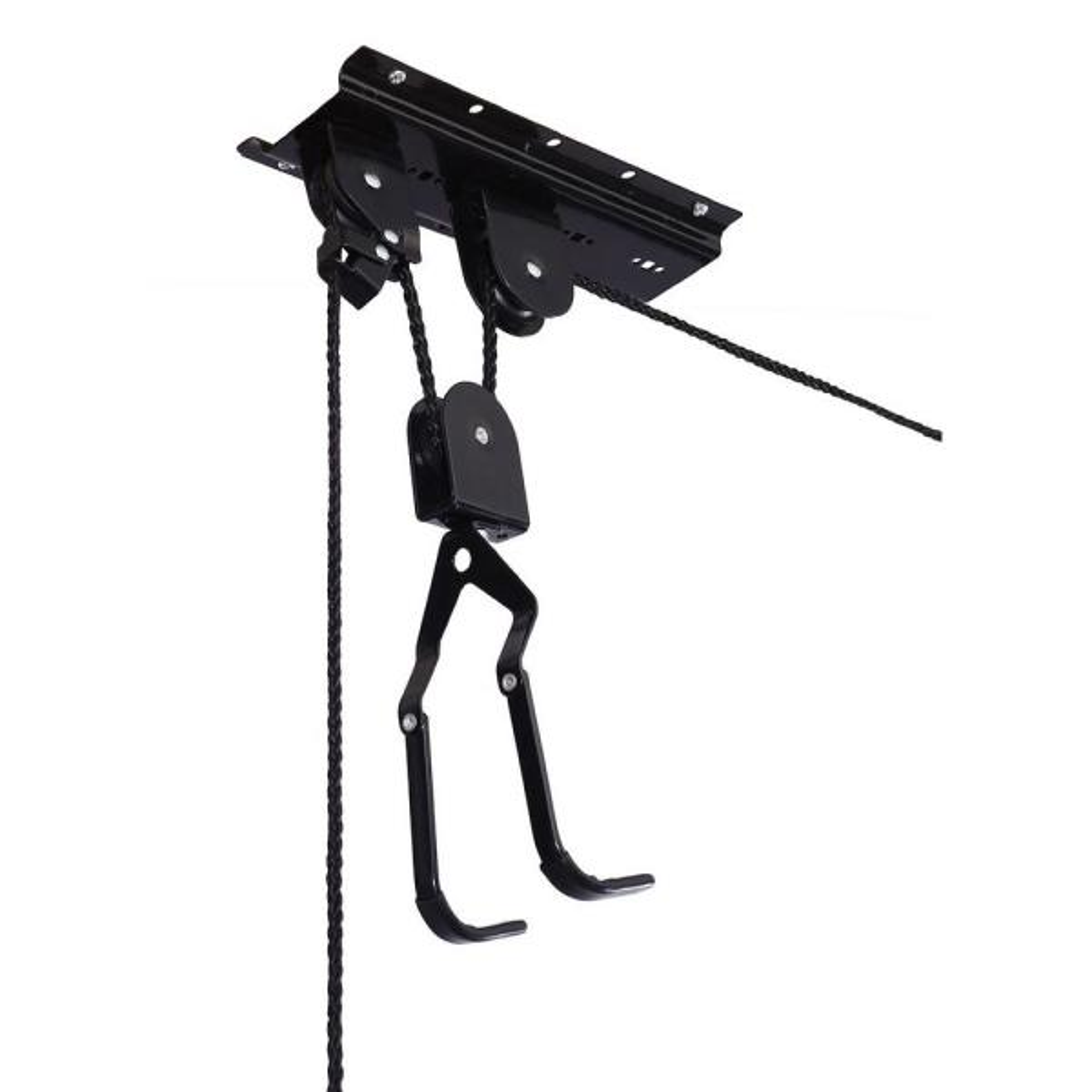 100 lb. Bicycle Garage Storage Lift Hoist (2-Pack)