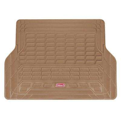 Beige All Weather 53 in. x 36 in. PVC Cargo Mat