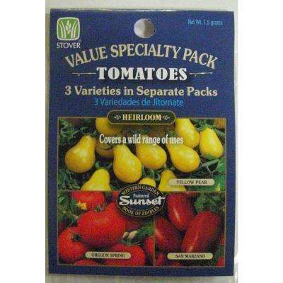 Tomato Variety Seed Pack