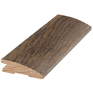 Oak 3 4 In Thick X 2 1 4 In Wide X 78 In Length Hardwood Bordeaux Flush Mount Reducer Molding Lm5897 The Home Depot