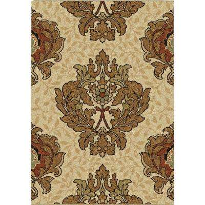 Harrison Bisque 5 ft. 3 in. x 7 ft. 6 in. Area Rug