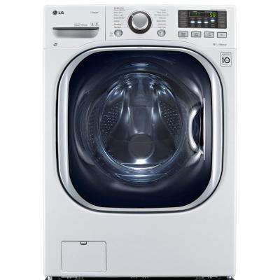 4.3 cu. ft. All-in-One Washer and Electric Ventless Dryer in White