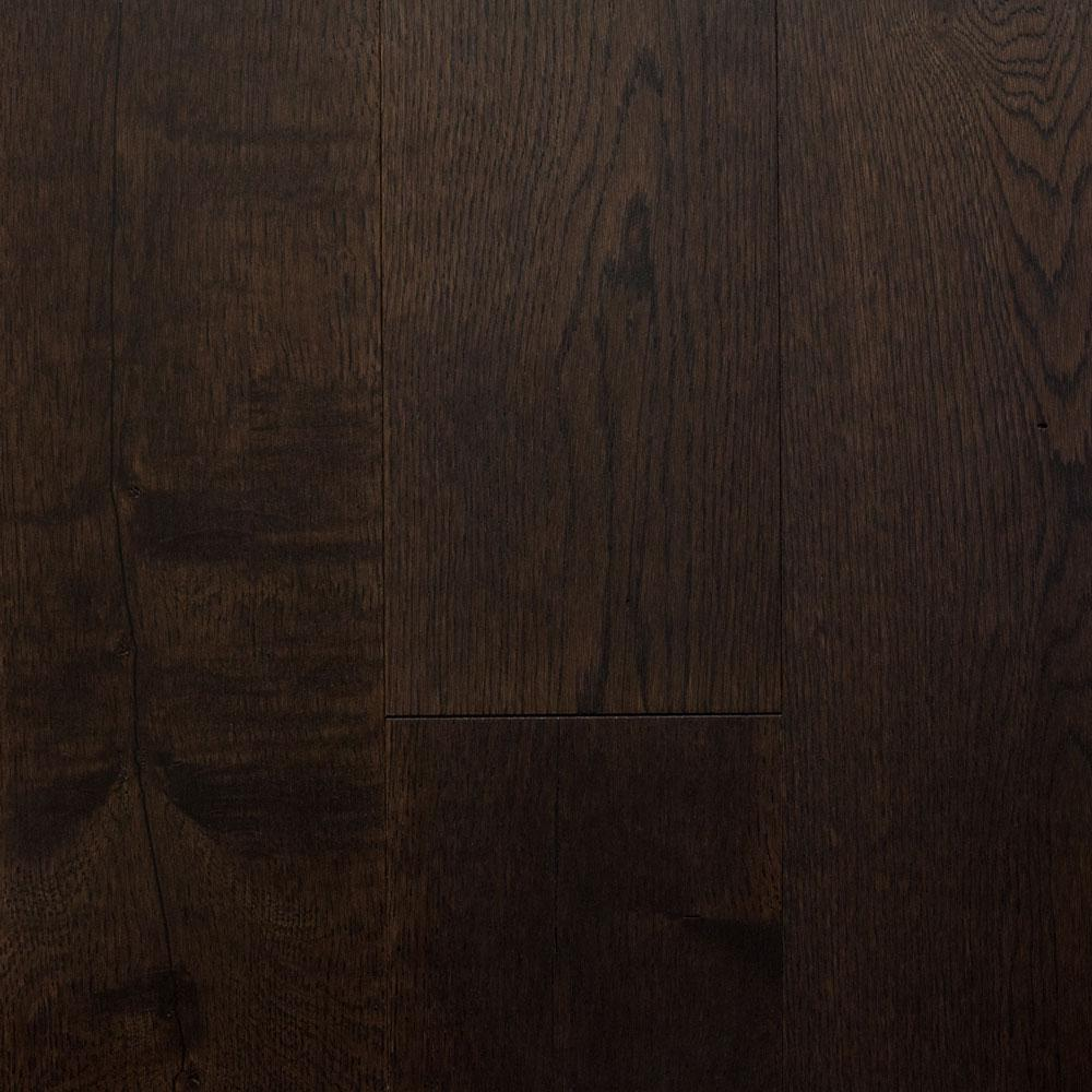 Blue Ridge Hardwood Flooring Castlebury French Roast Eurosawn Oak 3/8 In. T X 6 In. W X Random Length Eng Click Hardwood Flooring (30.5 Sq. Ft./case)