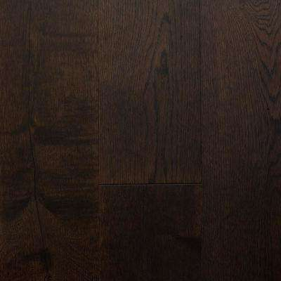 Castlebury French Roast EuroSawn Oak 3/8 in. T x 6 in. W x Random Length Eng Click Hardwood Flooring (30.5 sq. ft./case)