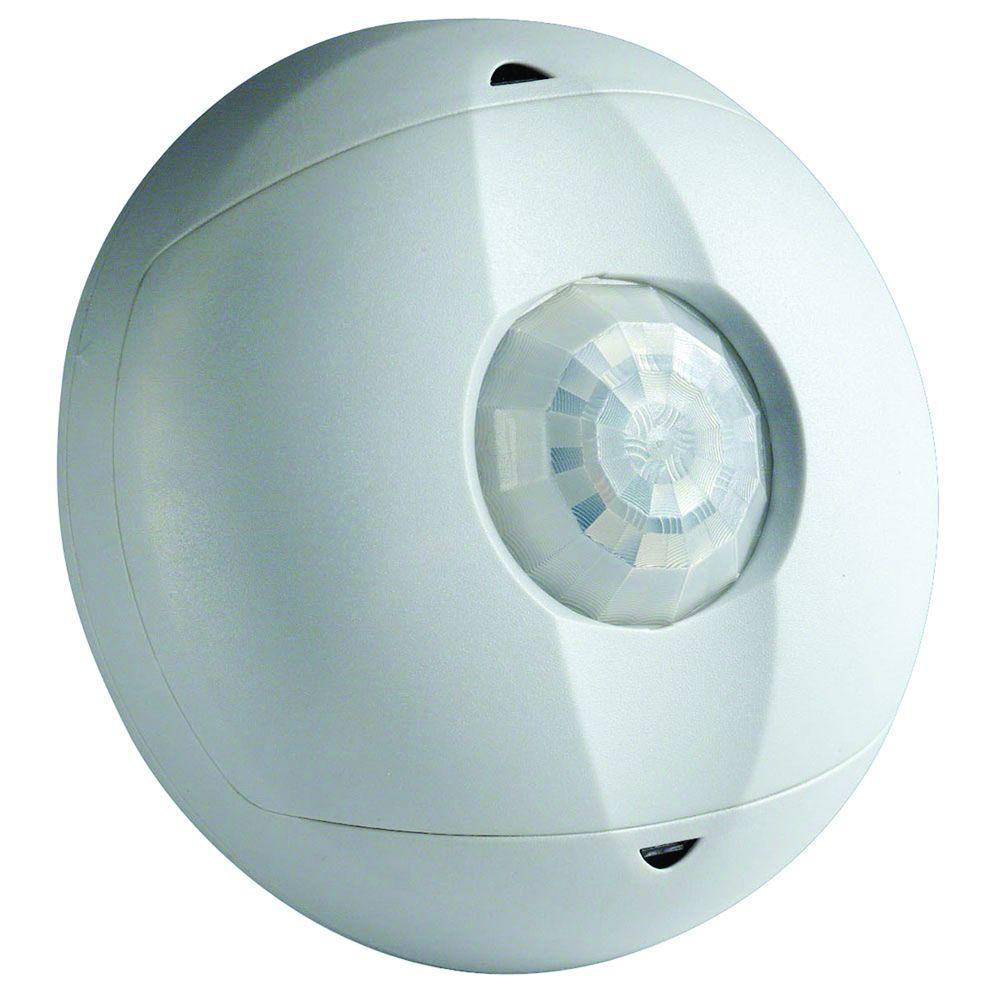 Ceiling Mount Occupancy Motion Sensor, White