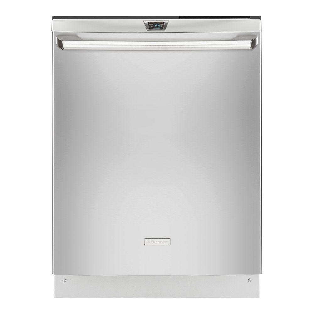 Electrolux IQ-Touch 24 in. Top Control Dishwasher in Stainless Steel with Stainless Steel Tub-DISCONTINUED