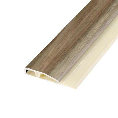 Harrington Acacia 0.28 in. Thick x 1.7 in. Wide x 78.7 in. Length Vinyl End Molding