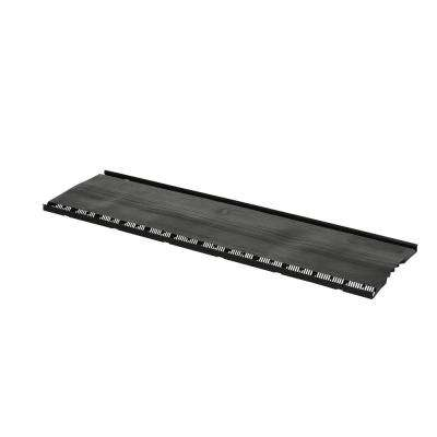 ShingleVent II 1.4 in. x 14 in. Static Vent in Black (Sold in Carton of 10/4 ft. Pieces Only)
