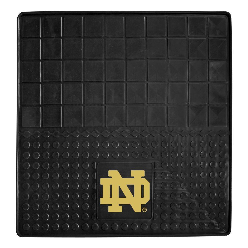 NCAA Notre Dame Heavy Duty 31 in. x 31 in. Vinyl Cargo Mat