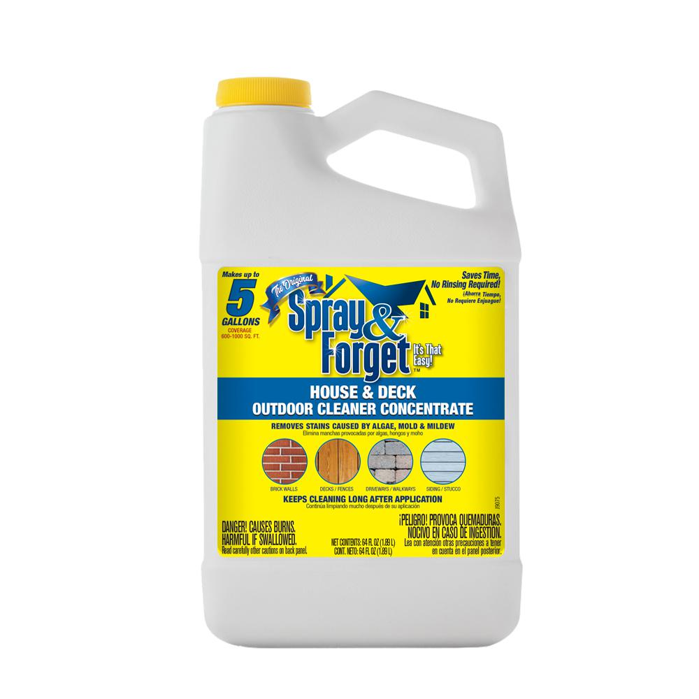 Spray Forget 64 Oz House And Deck Outdoor Mold Mildew