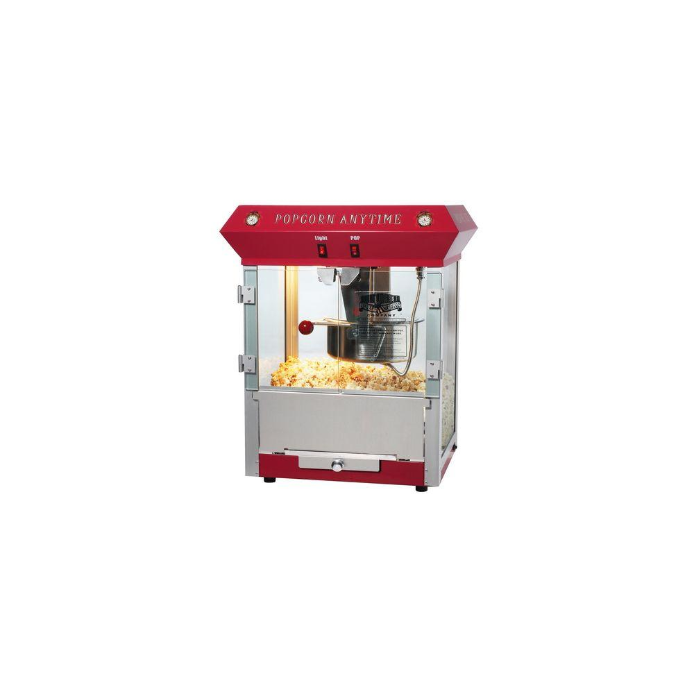 Great Northern Anytime Top Popcorn Popper Machine in Red-DISCONTINUED