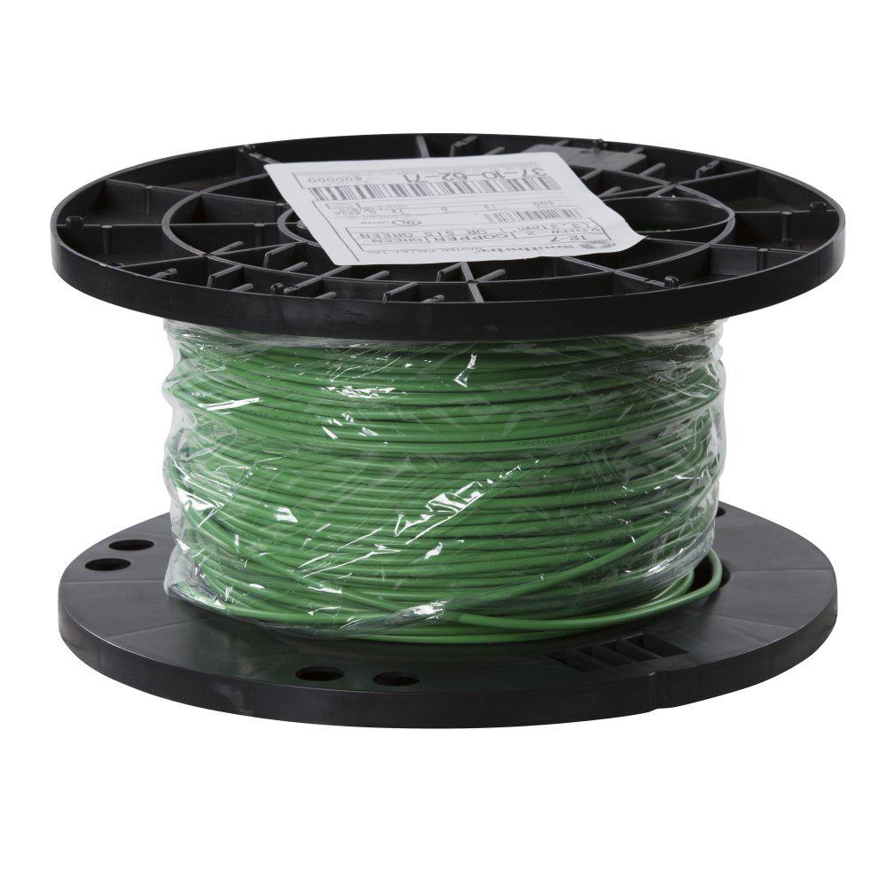 southwire 500 ft 12 green stranded cu xhhw wire 37106271 the home