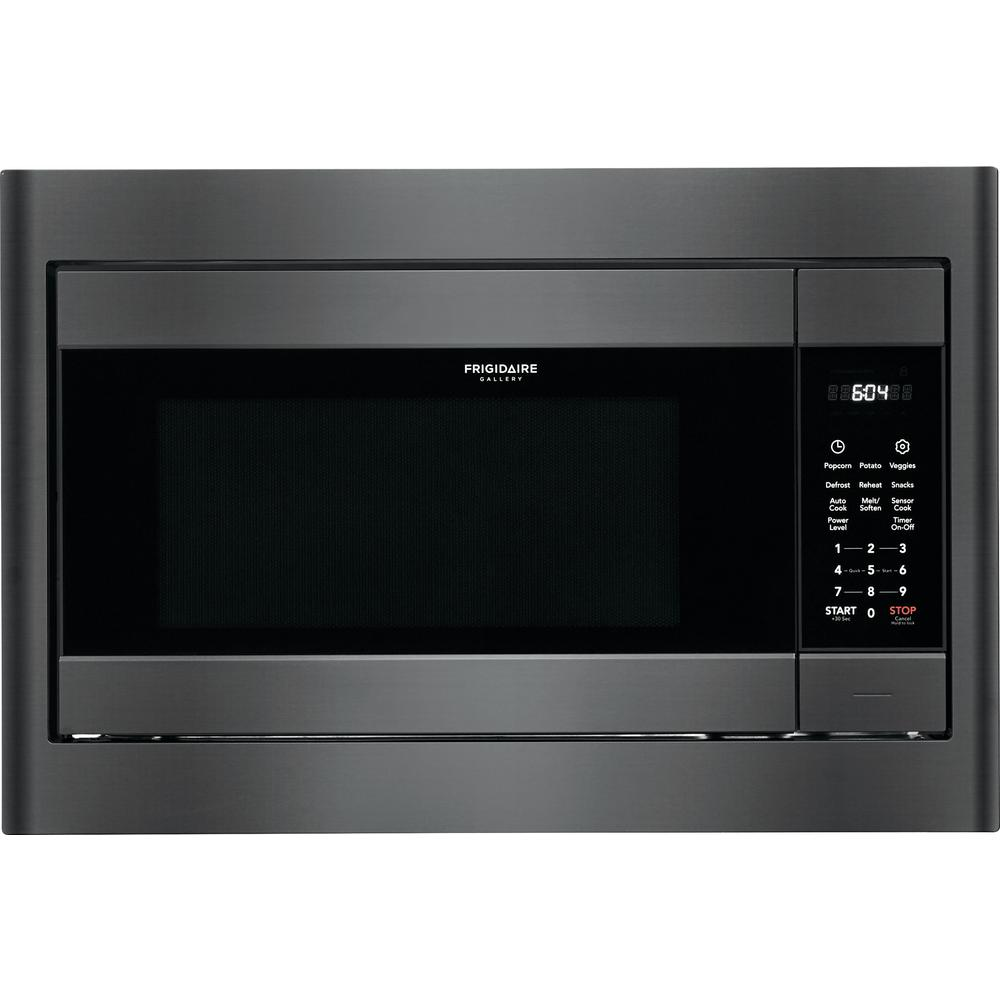 Frigidaire Gallery 2 Cu Ft Built In Microwave Black Stainless Steel With