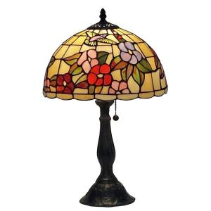 Amora Lighting 19 inch Tiffany Style Floral Table Lamp by Amora Lighting