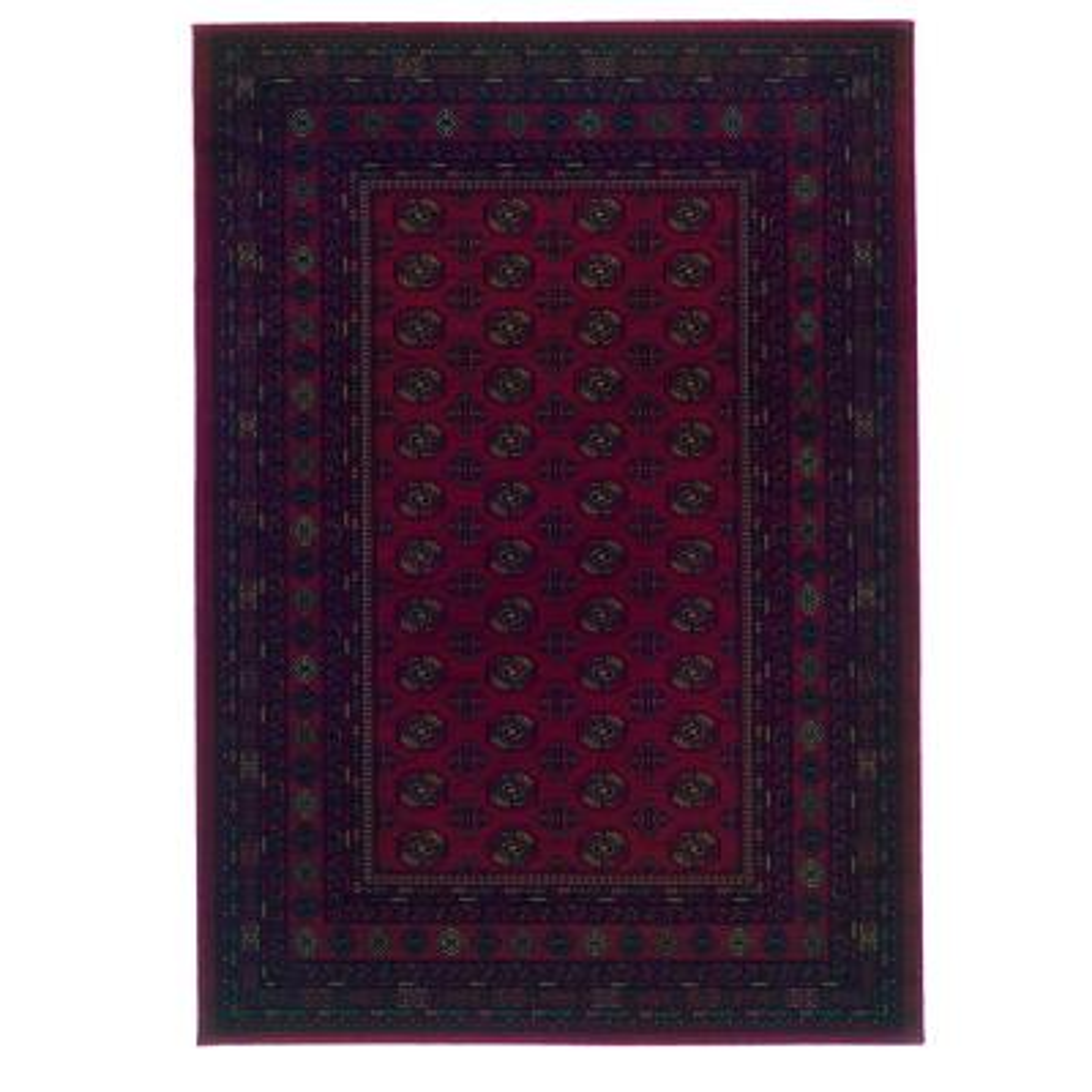 Kurdamir Boukara Crimson 5 ft. x 8 ft. Area Rug