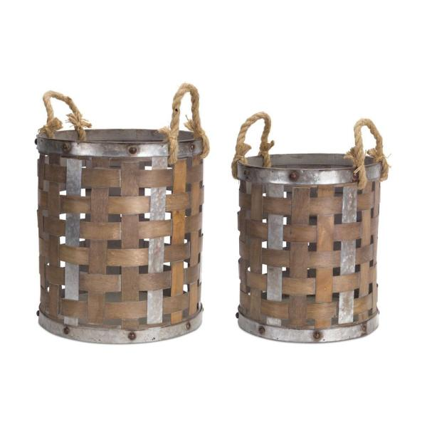 Unbranded - Woven Baskets (Set of 2)