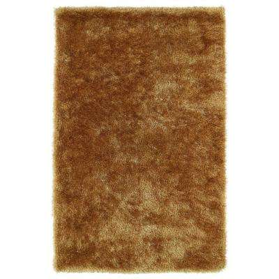Posh Gold 9 ft. x 12 ft. Area Rug
