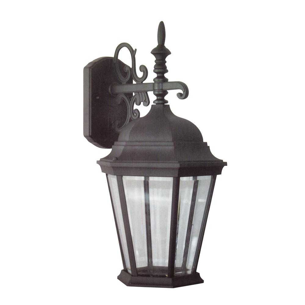 Design Traditional Wall Mount 14 25 In Black Outdoor