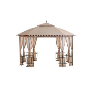double roof the home depot - Sunjoy Gazebo