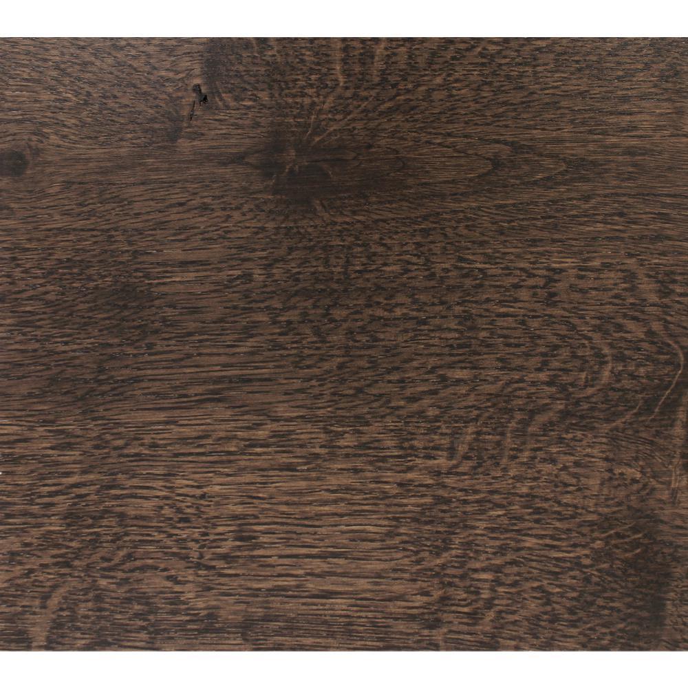 Take Home Sample-Classic Hardwoods White Oak Charcoal Engineered Hardwood Flooring -7.5 in. x 8.5 in.