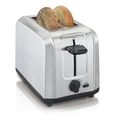 Stainless Steel 2 Slice Toaster with Extra Wide Slots