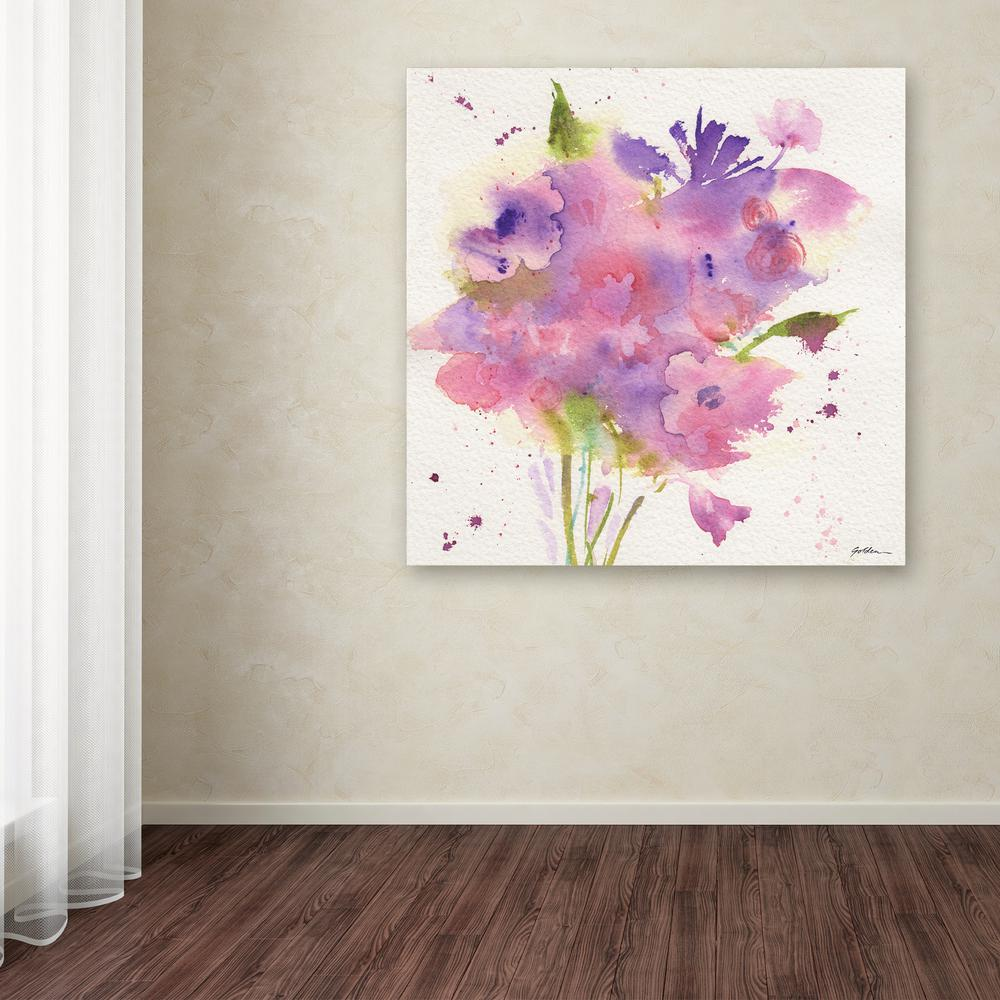 """18 in. x 18 in. """"A Bouquet for You"""" by Sheila"""