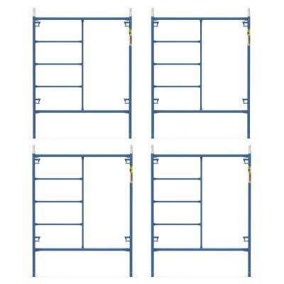 Saferstack 6.4 ft. x 5 ft. Mason Scaffold Frame (4-Pack)