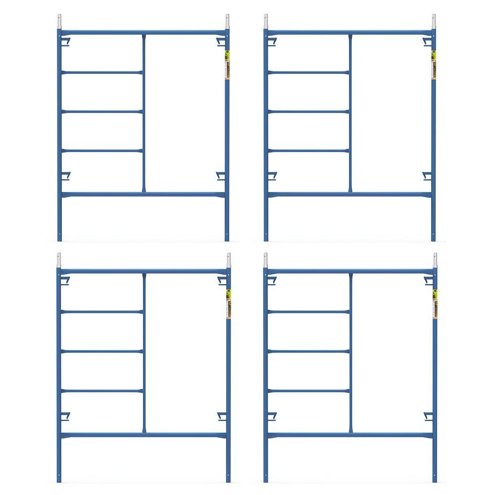 Rolling Scaffolding Home Depot : Werner ft portable rolling scaffold