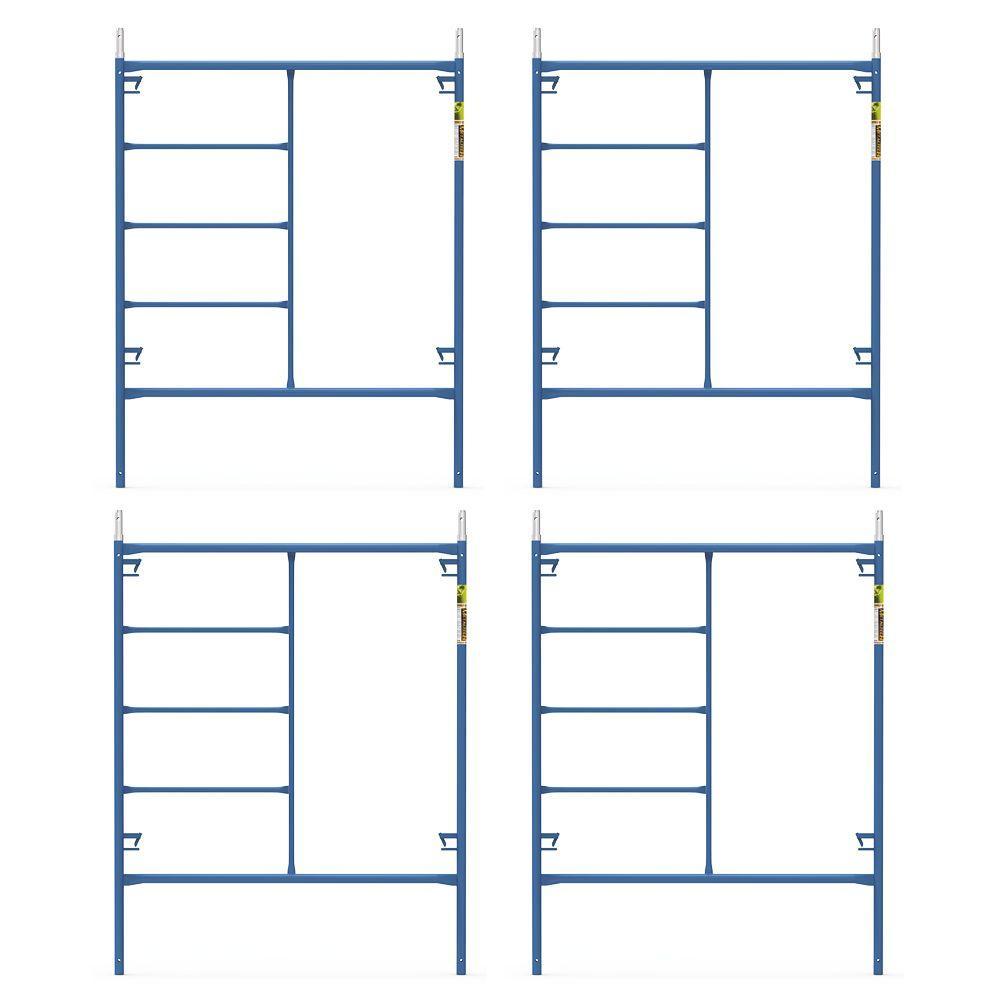 Saferstack 6.4 ft. x 5 ft. Mason Scaffold Frame (4-Pack)