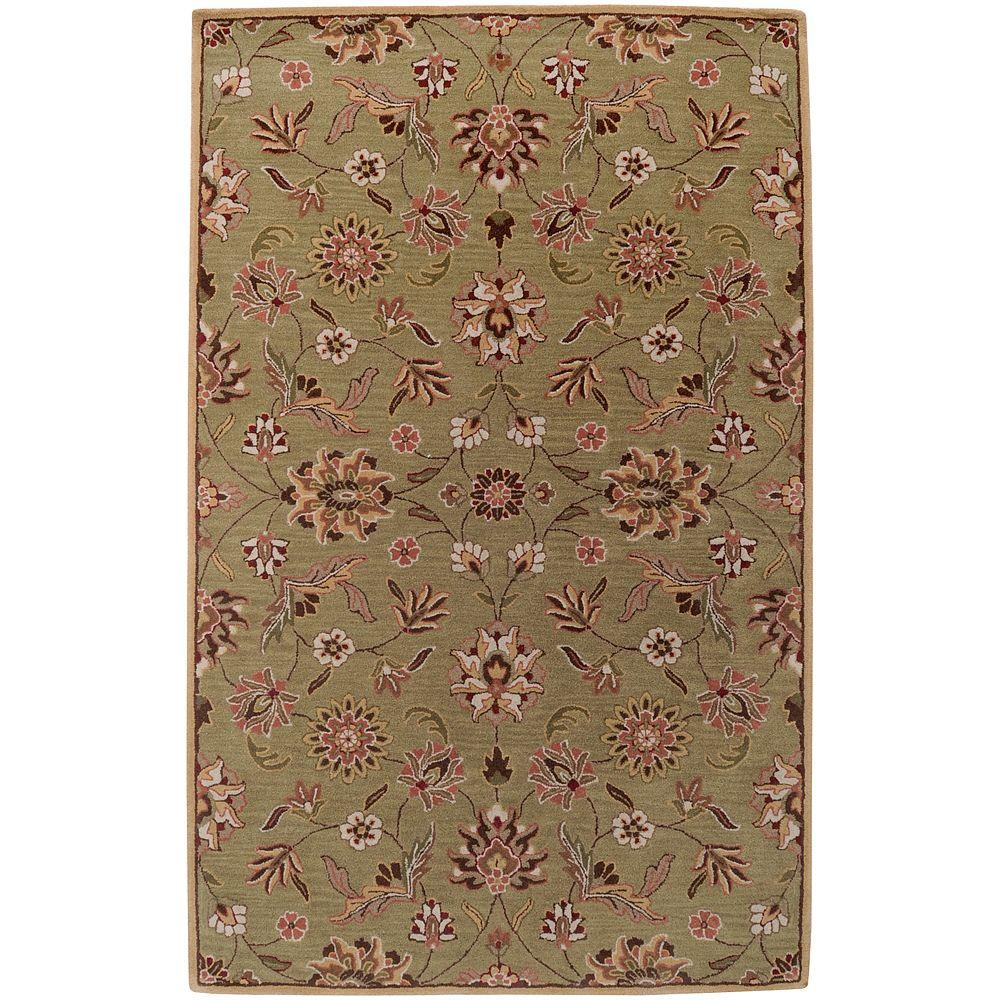 Artistic Weavers Manchester Gold 8 ft. x 11 ft. Area Rug