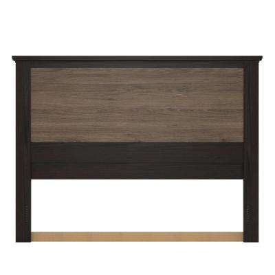 Noel Rustic Oak Queen Headboard